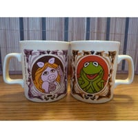 Vintage Muppet Show Mugs 1978 Miss Piggy and by WishfulSpirit