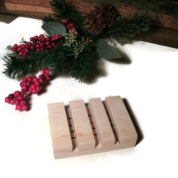 Wooden Soap Dish - READY TO SHIP