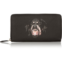 Givenchy - Rottweiler wallet in coated-canvas