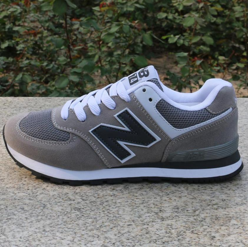 Image of NEW BALANCE Women Men Casual Running Sport Shoes Sneakers Grey