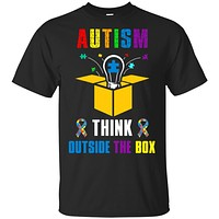Autism Think Outside The Box Autism Awareness