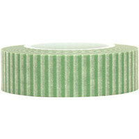 Green and white stripes Paper Deco Washi Masking Tape Roll Adhesive Stickers WT35