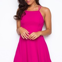 Roxy Dress - Raspberry