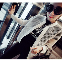 Korean version of the small hollow mesh jacket sun protection clothing
