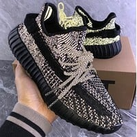 Adidas 350V2 YEEZY BOOST 350 3M reflection Gym shoes