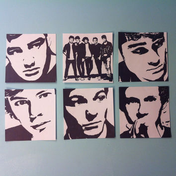 One Direction Pop Art Package by samonstage on Etsy