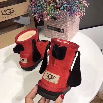 UGG baby Fashion Wool Snow Boots-5