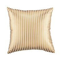 Pinstripe Pillow (Gold) in Throw Pillows | The Land of Nod