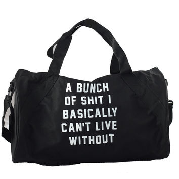IMPORTANT SHIT DUFFLE