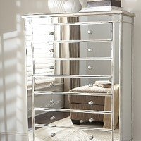 Amelie Mirrored Chest