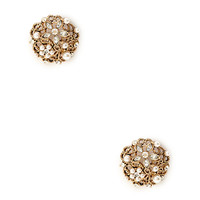 Etched Filigree Dome Studs