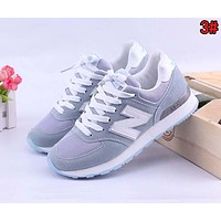 Alwayn New Balance Classic Women Casual Breathable Sport Sneakers Shoes 3#