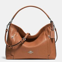 Perfect Coach Women Shopping Leather Tote Handbag Shoulder Bag