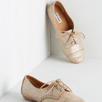 ModCloth Menswear Inspired Tap of the Hour Flat