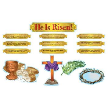 He Is Risen Bb Sets 6 Pk Christian