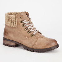 Dirty Laundry Tracker Womens Boots Taupe  In Sizes