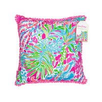 Lilly Pulitzer Large Pillow- Spot Ya