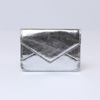 Madison Mini Wallet - Silver
