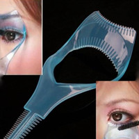 Mascara Applicator Guide 3-in-1 Beauty Tool