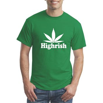 Highrish - St Patrick's Day Funny T-shirt  - Our T Shirt Shack