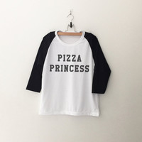 Pizza Princess T-Shirt Sweatshirts womens girls teens unisex grunge tumblr instagram blogger punk dope swag hype hipster gifts merch