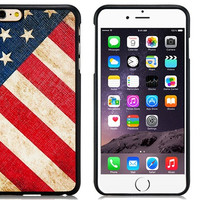 America Rubber Shell Case for iPhone 6\6s Plus