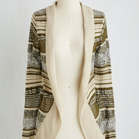 Boho Mid-length Long Sleeve Hold Down the Comfort Cardigan