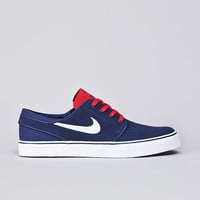 Flatspot - Nike SB Stefan Janoski Midnight Navy / White - Light Crimson