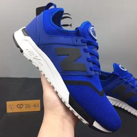 DCCK8NT cxon new balance nb247 mesh shoes blue black for women men running sport casual shoes sneakers