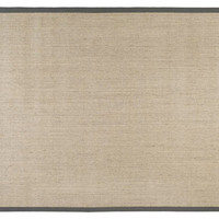 Lily Sisal Rug, Marble/Gray, Area Rugs