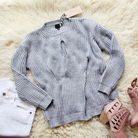 The Cozy Twist Sweater