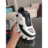 Prada Women's Men's 2020 New Fashion Casual Shoes Sneaker Sport Running Shoes
