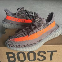 Adidas Yeezy 350 Boost V2 Orange 36---46