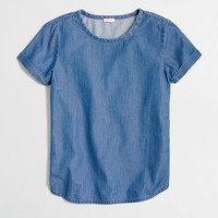 Factory chambray top