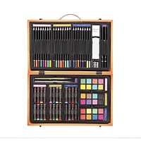 Darice 80-Piece Deluxe Art Set - Art Supplies for Drawing, Painting and More