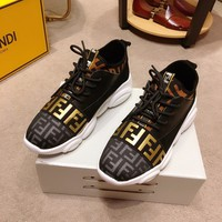 Fendi Fashion Men Casual Running Sport Shoes Sneakers Slipper Sandals High Heels Shoes