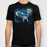The Dark Starry Knight Made in USA Short sleeves tee tshirt
