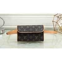 LV New Popular Women Men Monogram Leather Waist Bag Pockets Bag I-MYJSY-BB