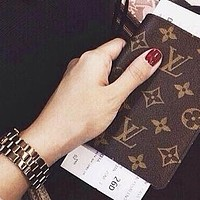 LV Fashion New Women Men Portable Hand Book Notebook