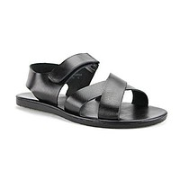 Men's 52632 Roman Gladiator Leather Strap Sandals Sz:6