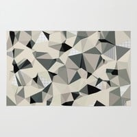 geometry waves  Rug by SpinL