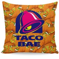 Taco Bae Couch Pillow