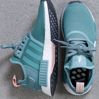 ADIDAS Women Running Sport Casual Shoes Sneakers Green