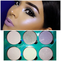 Moon- Glowing Shimmer Highlight Palette Okalan