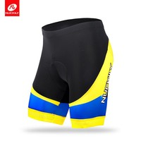 NUCKILY Summer Road Bike Shorts Stretchable And Breathable Sublimation Print Cycling Apparel For Men   MB015
