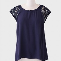 After Midnight Lace Blouse