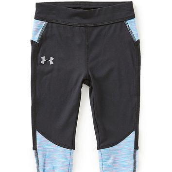 Under Armour Little Girls 2T-6X Studio Capri Leggings | Dillards