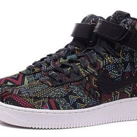 PEAP Nike Air Force 1 Bhm Af1 836227-001 Black For Women Men Running Sport Casual Shoes Sneakers
