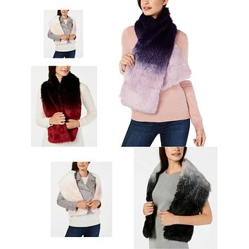 I.n.c. Ombre Faux-Fur Stole, Created for Macys
