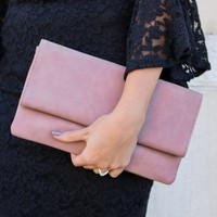 Jupiter Clutch - Blush
